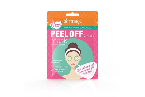 Dermage Peel Off Clarify Mask 10g