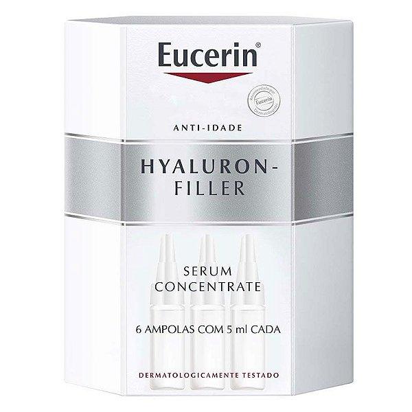 Eucerin Hyaluron Filler Concentrado Serum com 6 Ampolas de 5ml