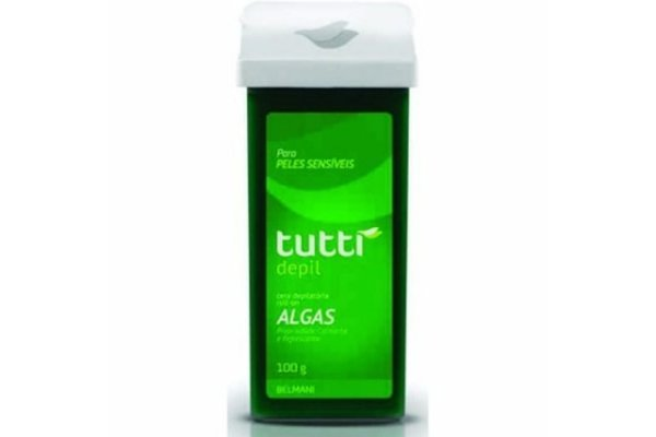 Tutti Depil Refil Roll-On Algas 100g