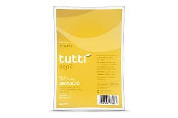 Tutti Depil Folhas Plásticas para Depilação A Frio 50 Folhas