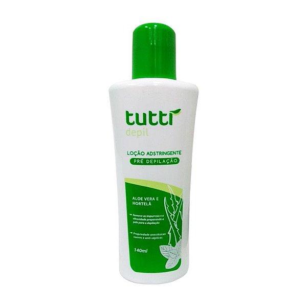 Tutti Depil Loção Adstringente Pré-Depilação 140ml
