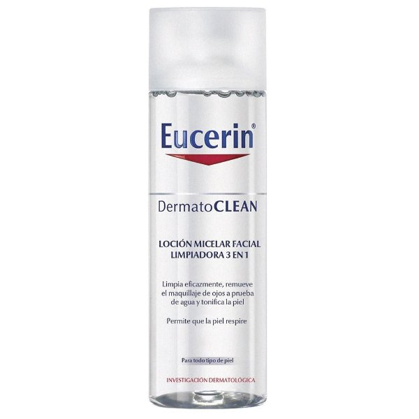 Eucerin Dermatoclean Solução Micelar 3 em 1 200ml