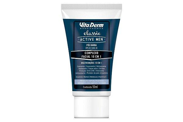 Vita Derm Active Men Complexo Facial 10 em 1 FPS30 50ml