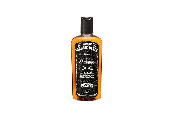 Johnnie Black Shampoo 3 em 1 240ml