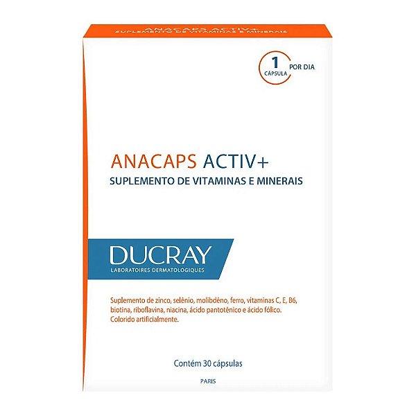 Ducray Anacaps Activ+ 30 capsulas