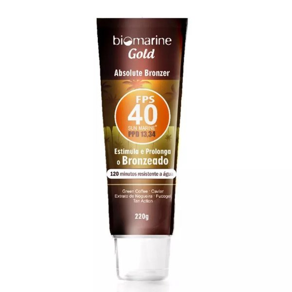 Biomarine Sun Marine Absolut Bronzer FPS 40 220ml