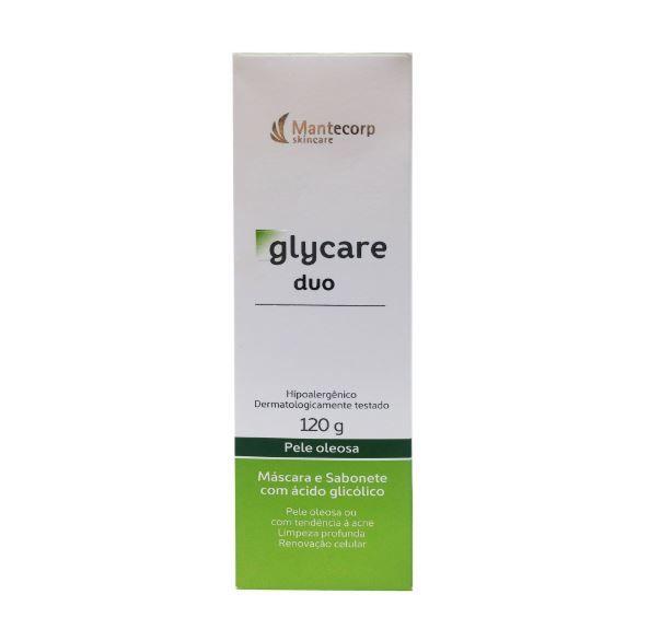 Mantecorp Glycare Duo Sabonete e Máscara Facial 120g