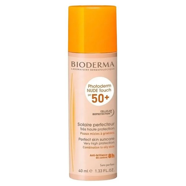 Bioderma Photoderm Nude Touch Protetor Solar FPS50 Muito Claro 40ml