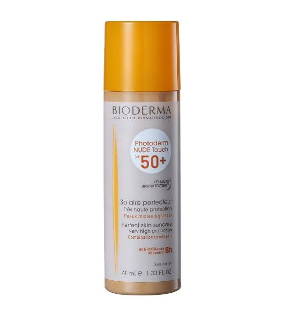 Bioderma Photoderm Nude Touch Protetor Solar FPS50 Dourado 40ml