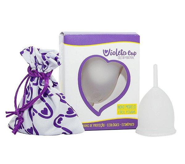 Violeta Cup Coletor Menstrual Tipo B Transparente