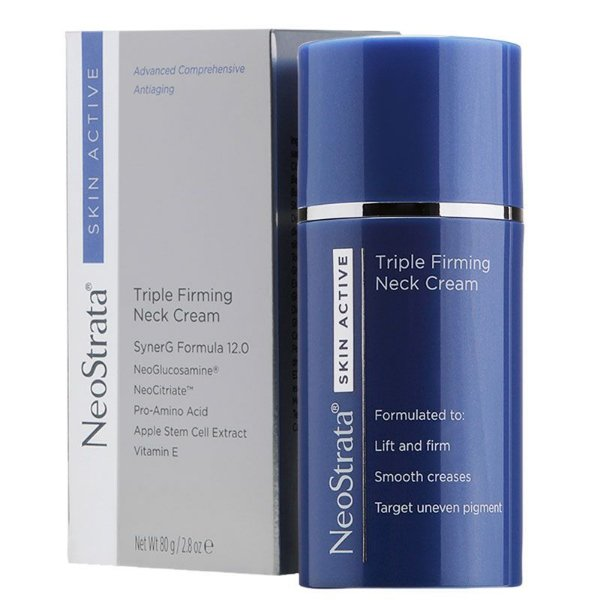 Neostrata Skin Active Triple Firming Neck Creme Antissinais 80g