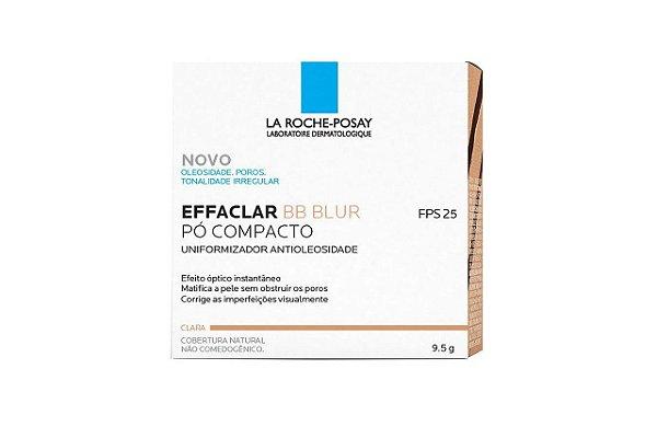 La Roche-Posay Effaclar BB Blur Pó Compacto Claro FPS25 9,5g