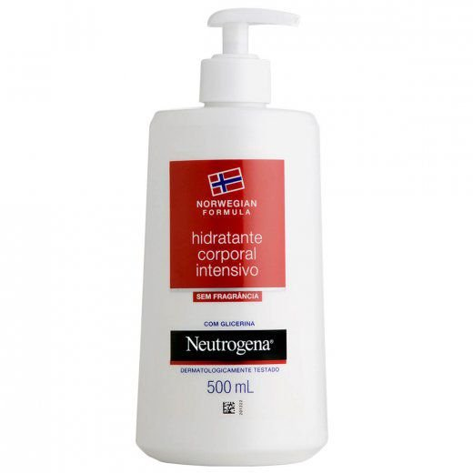Neutrogena Norwegian Body Hidratante Corporal Sem Fragrância 500ml