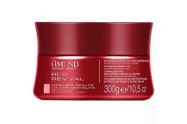 Amend Mascara Realce da Cor Vermelha 300g