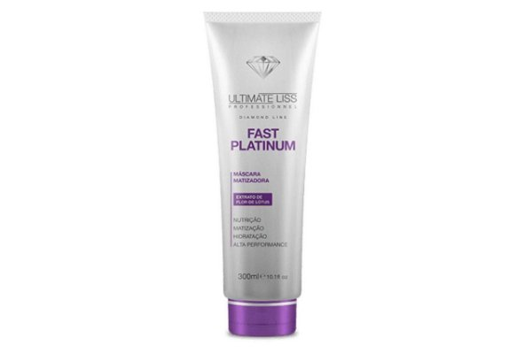 Ultimate Liss Mascara Fast Platinum 300ml