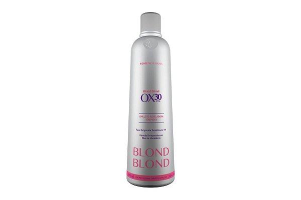 Richee Blond Blond Emulsão Reveladora Cremosa Ox30 900ml