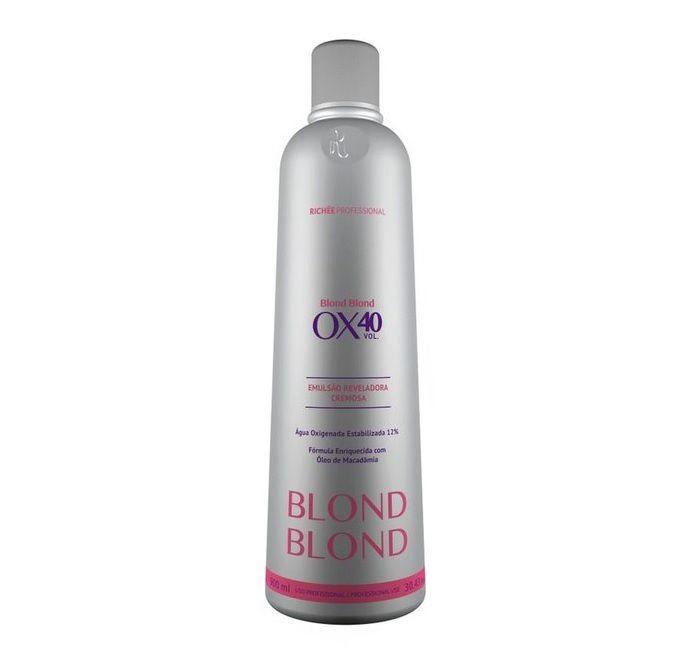 Richee Blond Blond Emulsão Reveladora Cremosa Ox40 900ml