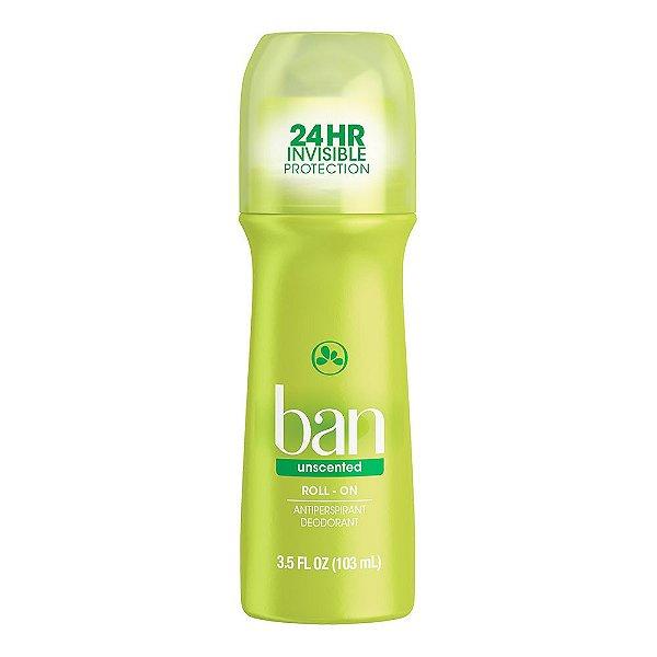 Ban Desodorante Roll On Sem Perfume 103ml