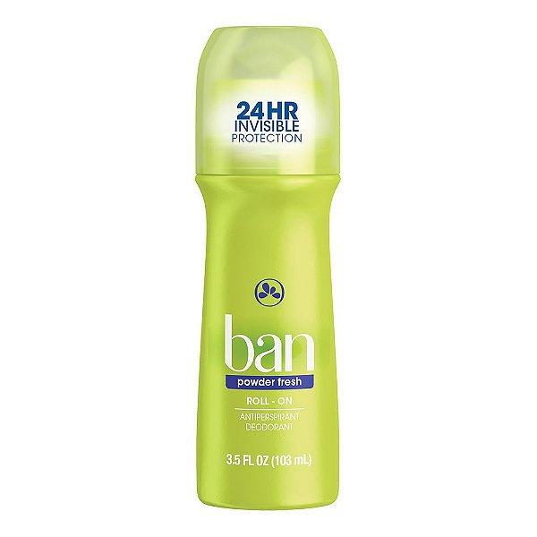 Ban Desodorante Roll On Powder Fresh 103ml