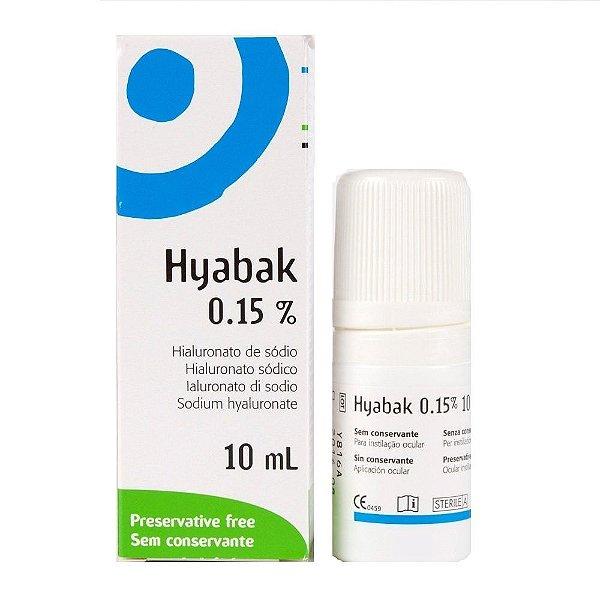 Genom Hyabak 10ml