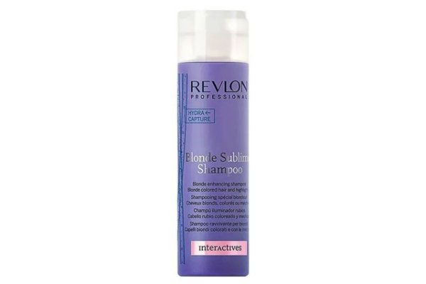RevlonProfessional Interactives Blonde Sublime Shampoo 250ml