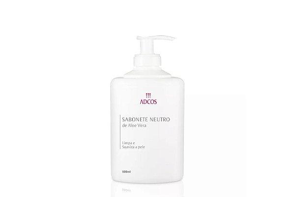 Adcos Sabonete Neutro de Aloe Vera 500ml