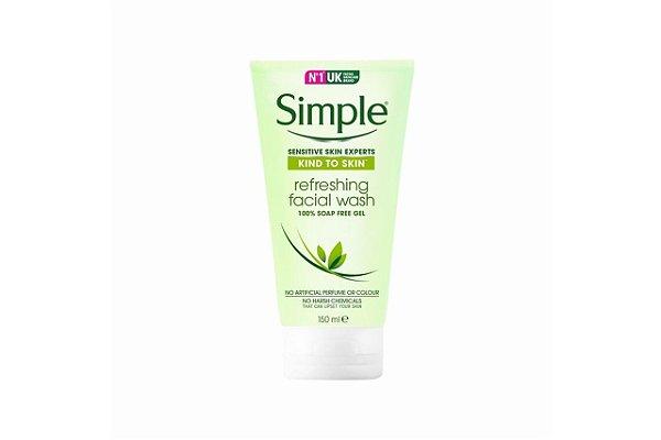 Simple Sabonete Liquido Facial Refresh 150ml