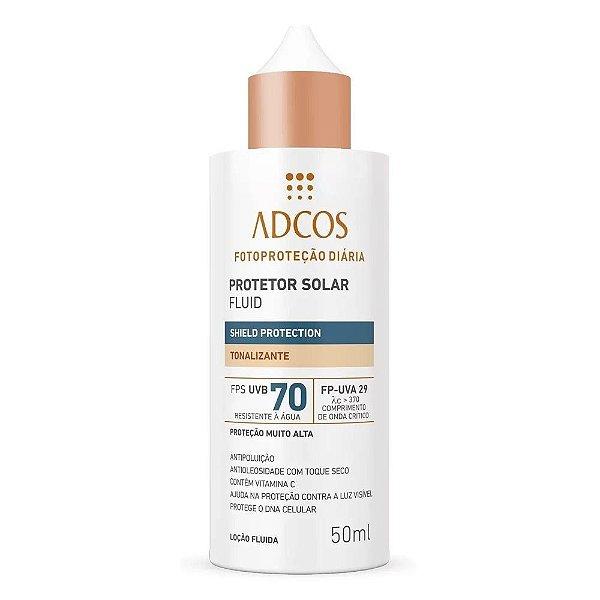 Adcos Filtro Solar Fluid Tonalizante FPS 70 50ml