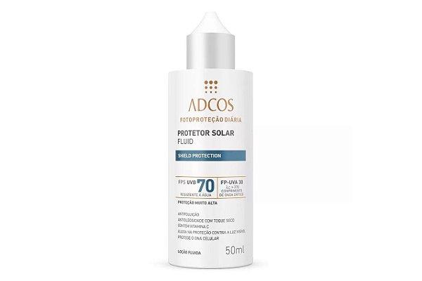 Adcos Filtro Solar Fluid  Fps70 Incolor 50ml