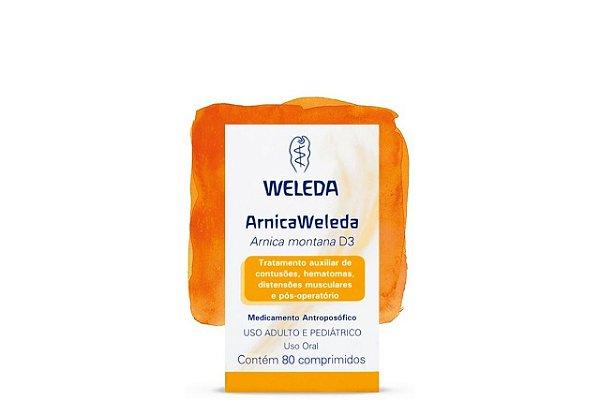 Weleda Arnica Weleda D3 80 Comprimidos