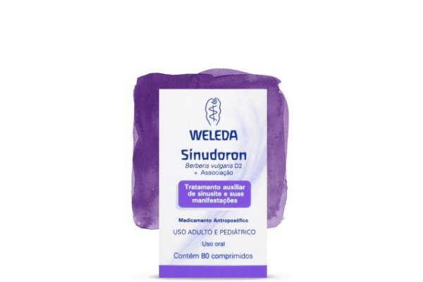 Weleda Sinudoron 80 Comprimidos
