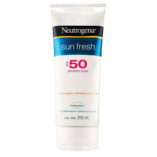 Neutrogena Protetor Solar Sun Fresh Fps 50 200ml