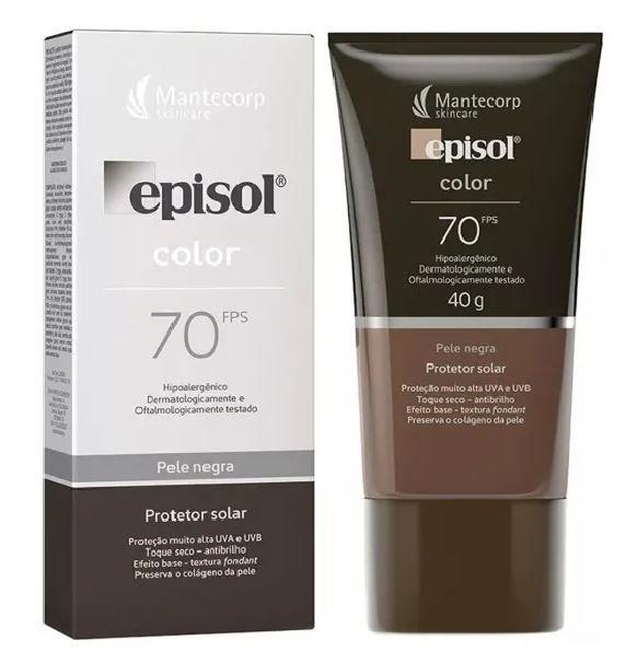 Mantecorp Episol Color Pele Negra FPS 70 40g