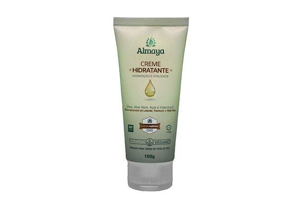 Almaya Creme Hidratante e Revitalizante Natural e Vegano 100g