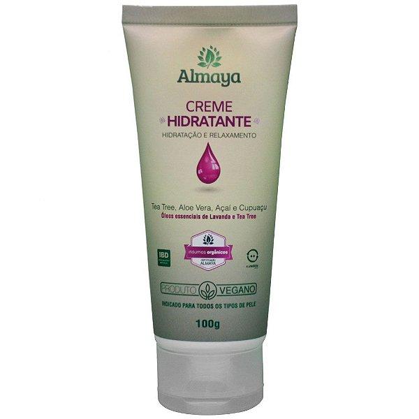 Almaya Creme Hidratante e Relaxante Natural e Vegano 100g
