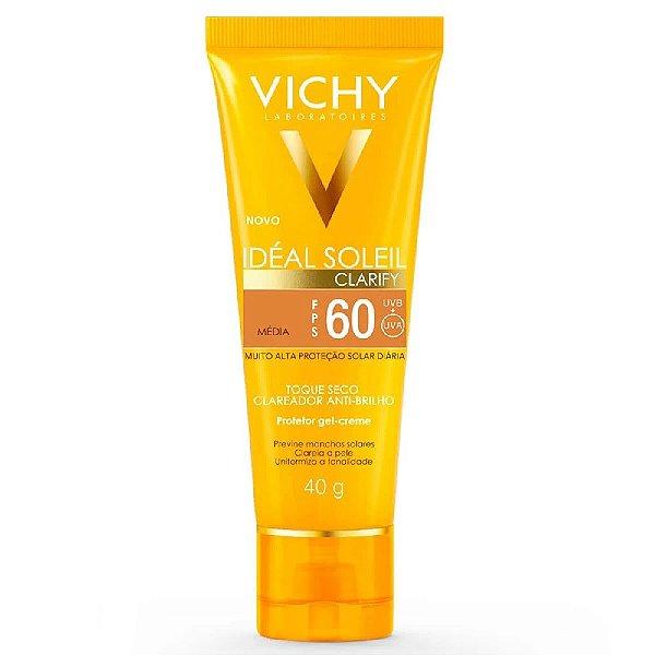 Vichy Ideal Soleil Clarify FPS60 Média 40g