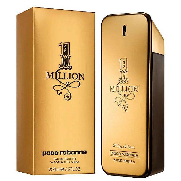 Paco Rabanne 1 Million Perfume Masculino Eau de Toilette 200ml