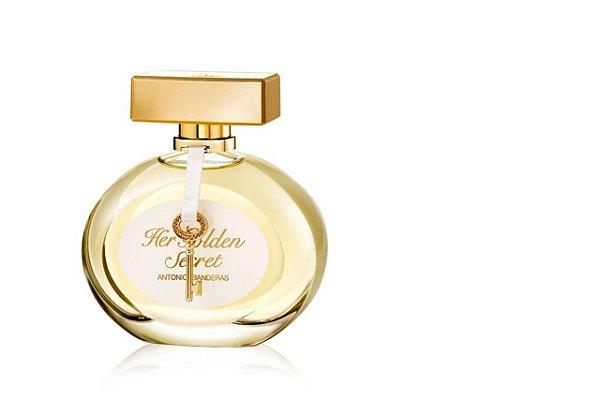 Antonio Banderas Her Golden Secret Perfume Feminino Eau de Toilette 80ml