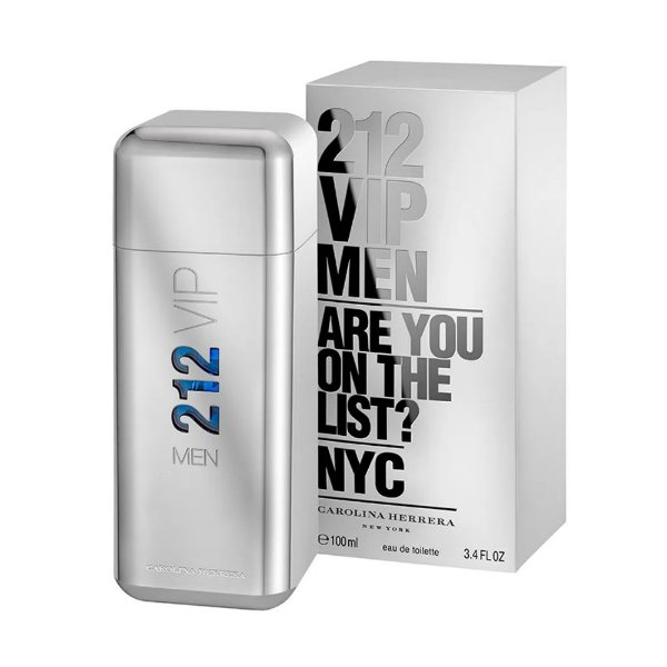 Carolina Herrera 212 Vip Men Perfume Masculino Eau de Toilette 50ml