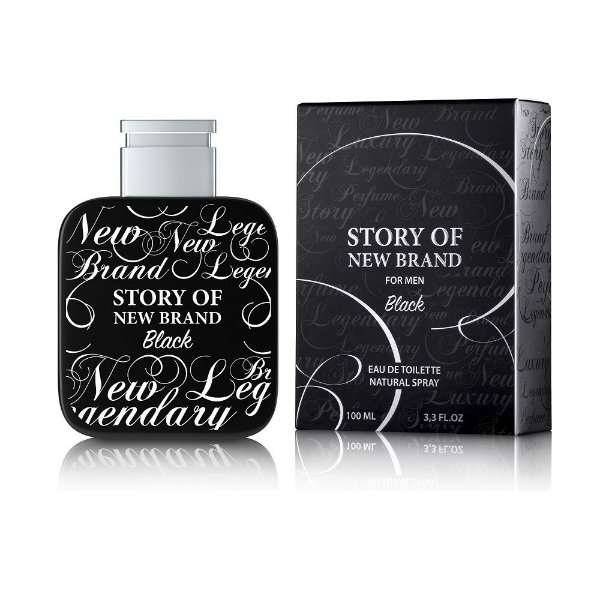 New Brand Story Of New Brand Black For Perfume Masculino Eau de Toilette 100ml