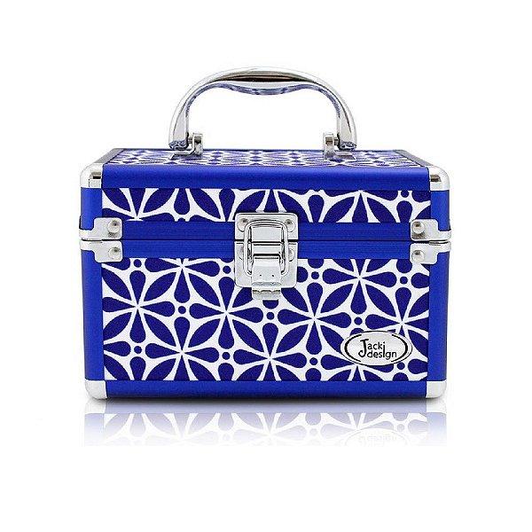 Jacki Design Maleta Multiuso Tam PP Geométrica Cor Azul