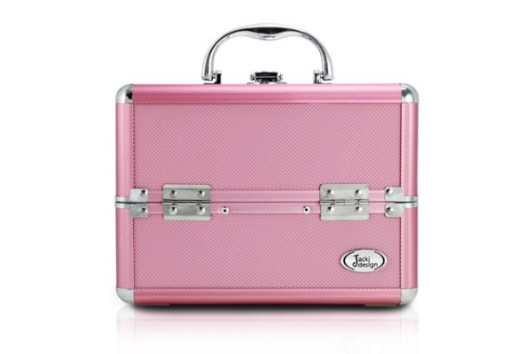 Jacki Design Maleta Profissional de Maquiagem Tam P Cor Pink