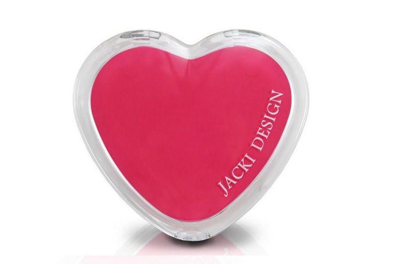 Jacki Design Espelho de Bolsa Coração Cor Salmão