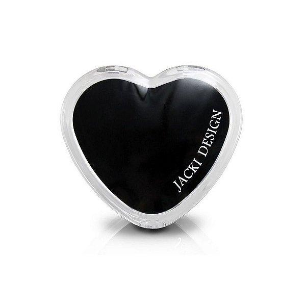 Jacki Design Espelho de Bolsa Coração Cor Preto