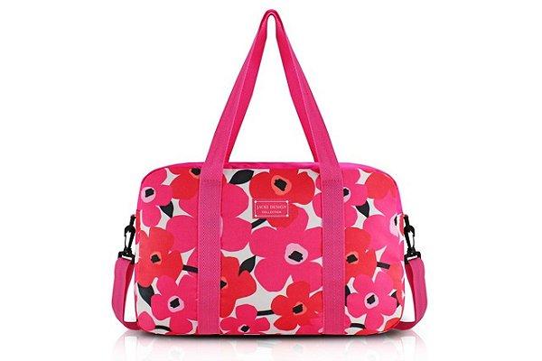 Jacki Design Bolsa de Viagem Cor Pink