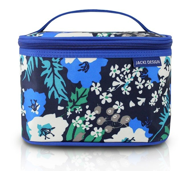 Jacki Design Necessaire Frasqueira Tam P Estampa Azul Floral