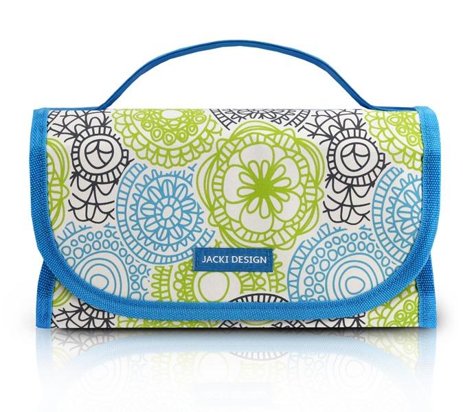 Jacki Design Necessaire Rocambole Cor Azul
