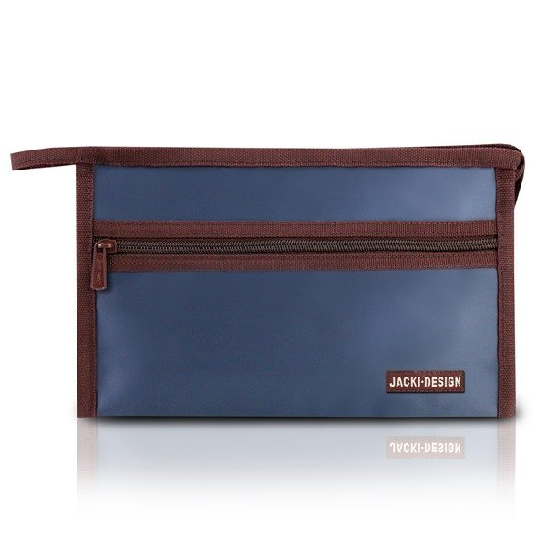 Jacki Design Necessaire Envelope Cor Azul Escuro