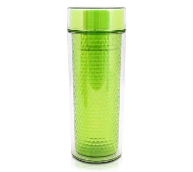 Jacki Design Copo Isotérmica Com Tampa Cor Verde 430Ml