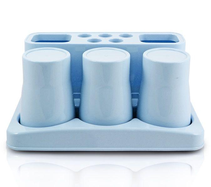 Jacki Design Kit De Banheiro De 5 Peças Cor Azul